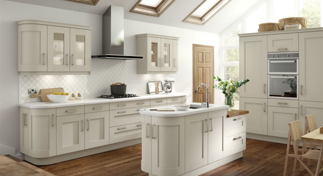 trade kitchen quote for albany - painted ivory