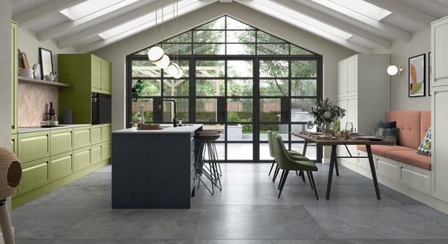 combining the linear detailing of a handleless door with a subtle shaker frame, harborne captures the true essence of traditional styling with a contemporary twist. be as adventurous or as serene as you like with our multitude of amazing colours, you can create an environment that reflects your personality and lifestyle.